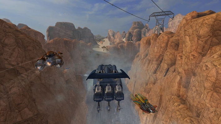 Grab massive air off some of the most jaw-dropping jumps in any racing game – ever!