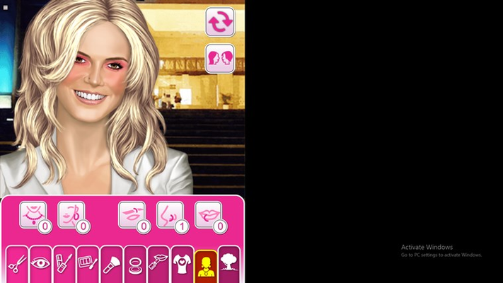 Fashionista Dress UP  Games