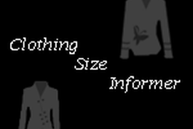 Clothing Size Informer
