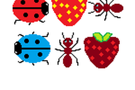 Ladybirds & Strawberries