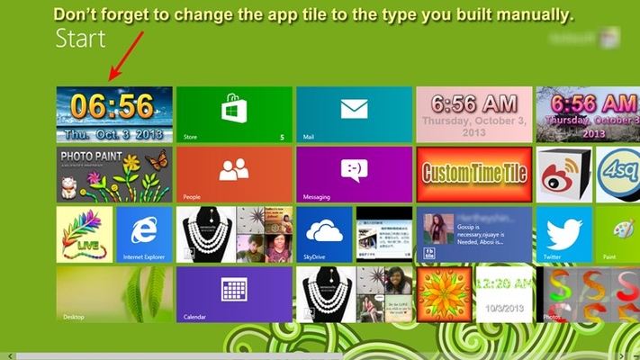 CLOCK TILE PRO for Windows 8