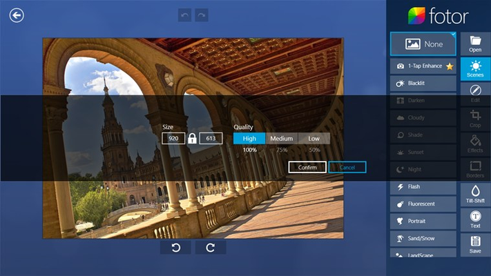 Fotor for Windows 8