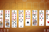 FreeCell solitaire layout