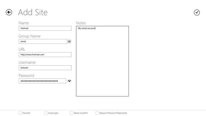 LastPass for Windows 8