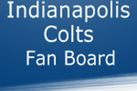 Indianapolis Colts Fan Board