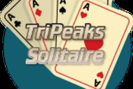 Tri-Peaks Solitaire.