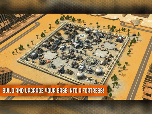 - Build and upgrade your base into a fortress!