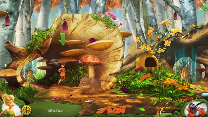 Disney Fairies Hidden Treasures for Windows 8