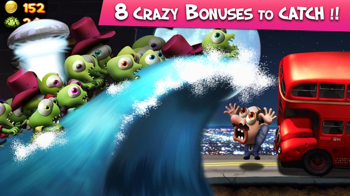 8 crazy bonuses to catch!