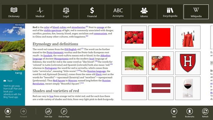 Dictionary. for Windows 8