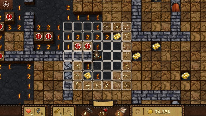 Play the all-new Adventure mode to explore a dangerous mine full of items, traps, and treasures!