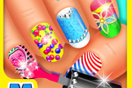 Deluxe Nail Salon - Fun Nail Make Over Game for Girls