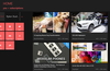 Your home page, showing your recent subscription videos