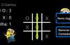 Interface do Jogo ao fim de uma partida