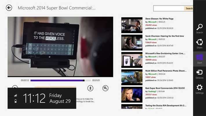 Downloader.YouTube for Windows 8
