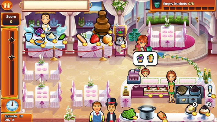 Manage your own restaurant at Snuggford Manor!