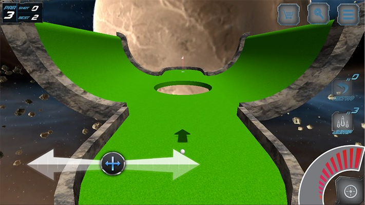 Play the Insane Holes of Outer Space!