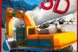 Snow Excavator Earthquake Rescue: Hill Station 3D