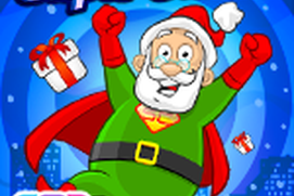 Super Santa Claus: Interactive Children's Christmas Storybook Holiday