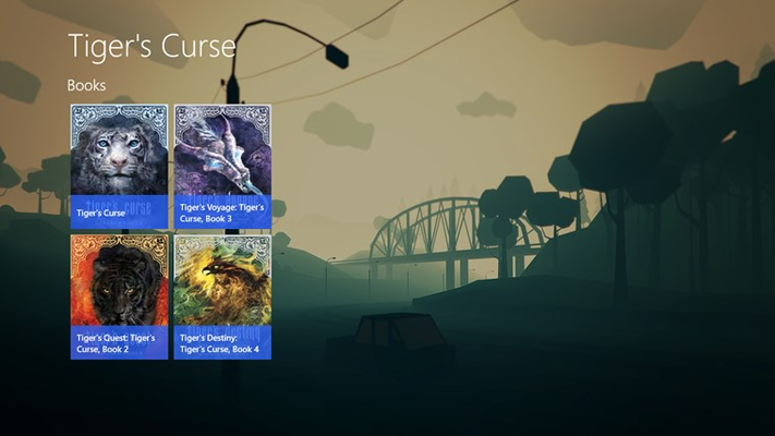 Tiger's Curse (Audiobook) for Windows 8