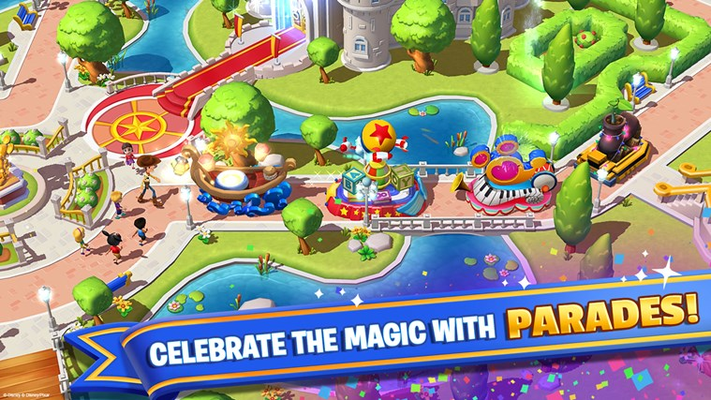CELEBRATE THE MAGIC WITH PARADES!