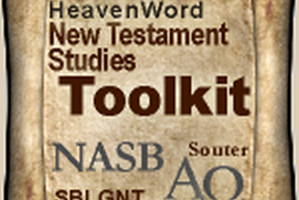 HeavenWord New Testament Studies Toolkit