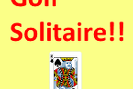 Golf Solitaire !!