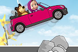 Masha and the Bear Crazy Car