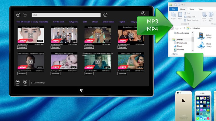 download mp4/mp3 from youtube