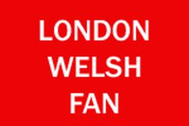 London Welsh Fan
