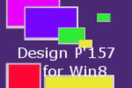 Design P'157 for win8