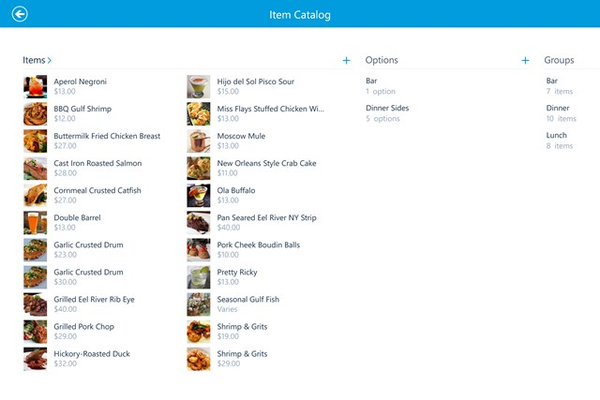 Manage your Item Catalog