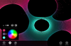 Colorize your universe with a custom color palate selection.