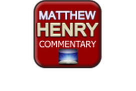 matthew henry complete bible commentary pdf