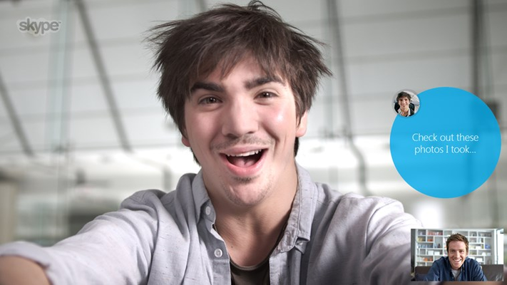 All Skype-to-Skype video and voice calls are free.