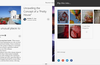 Use the + button to save your favorite stories into your own magazines.