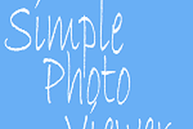 Simple PhotoViewer