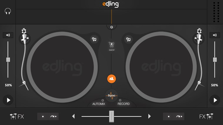 edjing - DJ mixer console studio - Play, Mix, Record & Share your sound! for Windows 8