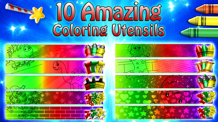 Use All the Coloring Utensils to Make the Perfect Creation