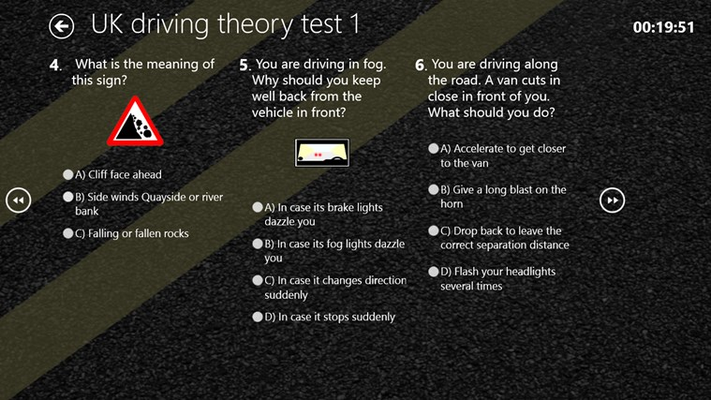 Take practice tests and improve your score