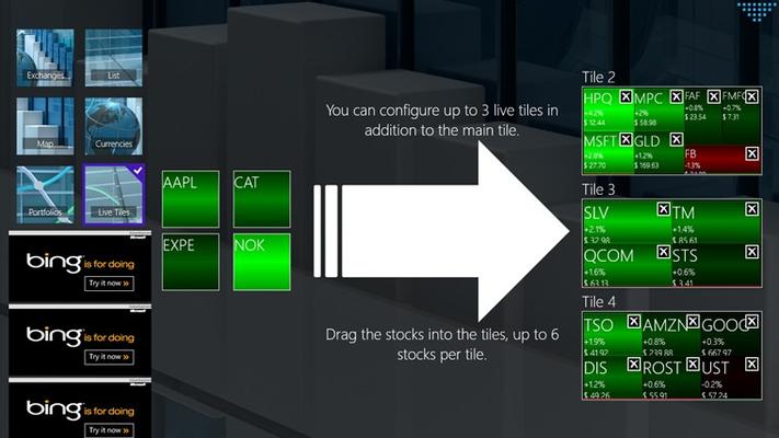 configure live tiles