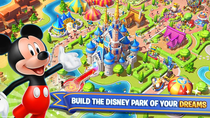 BUILD THE DISNEY PARK OF YOUR DREAMS