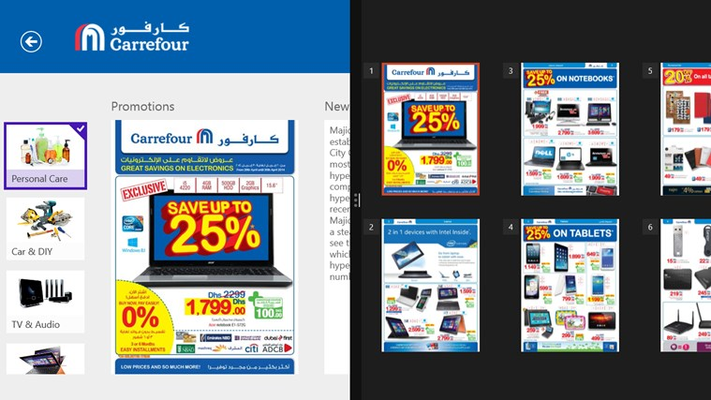 Access latest promotion leaflets from Carrefour market, hypermarket and my Club offers.