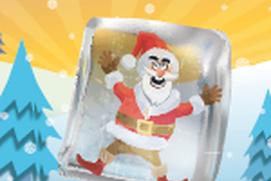Frozen Santa