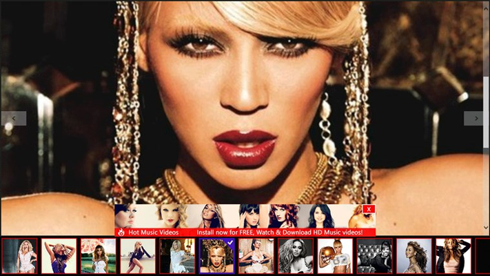 Beyonce Videos for Windows 8