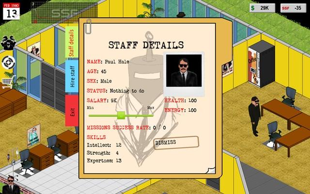 Staff details