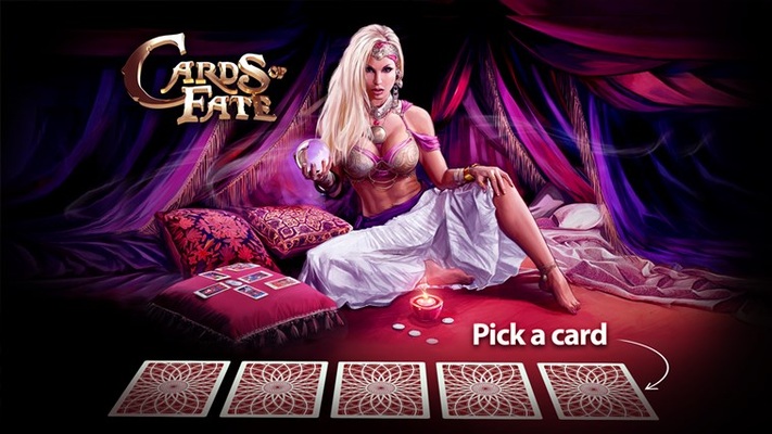 Cards of Fate Bonus Game