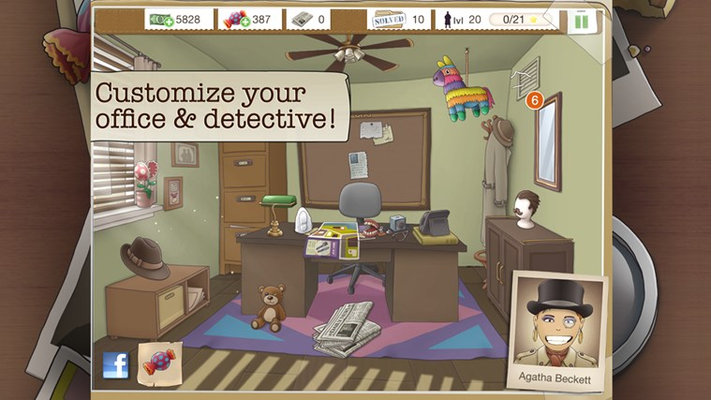 Customize office and detective