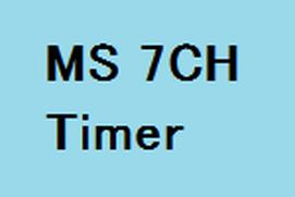 MS 7CH Timer