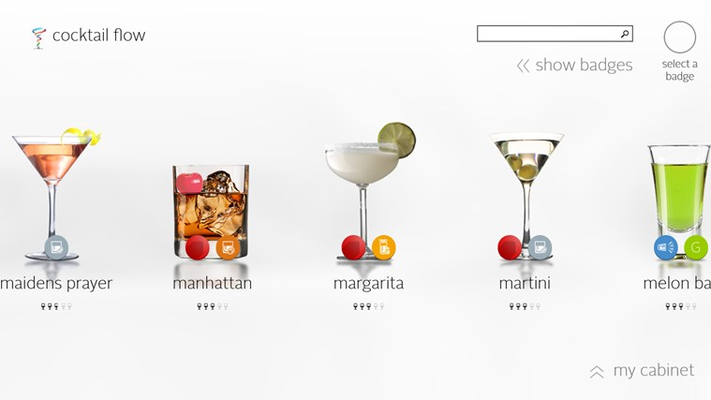 Cocktail Flow for Windows 8